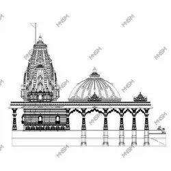 Temple Architectural Designing Service