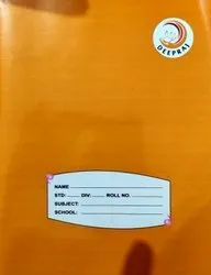 Perfect Bount Brown A5 School Notebook