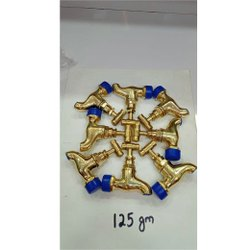 125 Gm Brass Bib Cock
