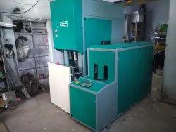 Three Phase Semi-Automatic Jar Bottle Making Machine, 12 KW, Production Capacity: 500 Jph
