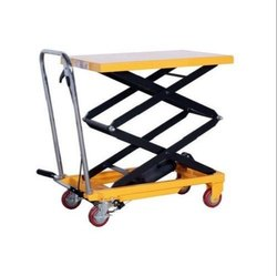 Manual Hydraulic Scissors Lift Table 1000 kg