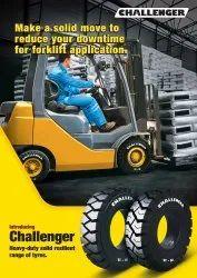 JK Tyre Solid Resilient Range Of Tyre