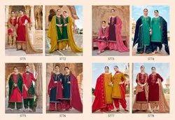 kessi Semi-Stitched Patiyala salwar suits collection, Machine wash