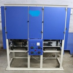 Fully Auto Double Die Dona Thali Making Machine