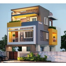 Residential Projects Concrete Structure Villa Construction Service