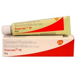 Tenovate- M (  Clobetasol Propionate+ Miconazole Nitrate)