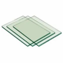 Natural Square Float Glass, Glass Thickness: 4 Mm