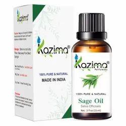 KAZIMA 100% Pure Natural & Undiluted Clary Sage Oil