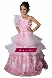Female Pink Party Dresses