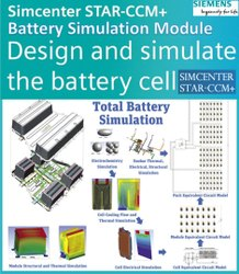 STAR-CCM+ - Battery Simulation Module - Software for Thermal Management of Battery Cell Pack