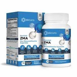 Zma Capsules - Elicura Zinc Monomethionine Aspartate (60 Veg Capsules)