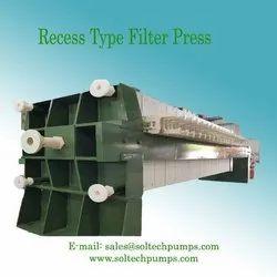 Recess Type Filter Press
