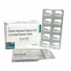 Sodium Valproate 333 mg Valproic Acid 145mg