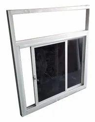 White Powder Coated Aluminum Sliding Glass Window