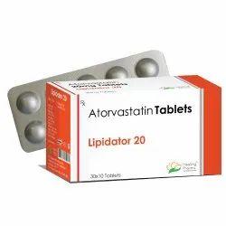 Lipidator 20mg Tablets