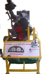 MPFI Engine Working Model