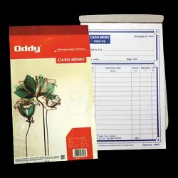 Oddy Cash Memo - (CM-01) - (50 Ruled   50Leaves) - Offset Printed - (6.5 x 4 inches)