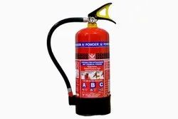 Dry Powder Type Mild Steel Fire Extinguisher, Capacity: 4 Kg