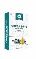 IMC Omega 3-6-9 with vitamin D3(fish oil capsules), 30 Capsules