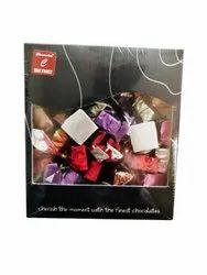 Rectangular 250 Gm Dry Fruit Chocolate Box for Gift
