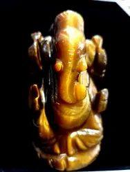Tiger Eye Ganesh