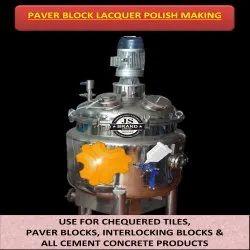Paver Block Lacquer Polish Making Machine