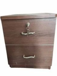 Square Wooden Bedside Drawer, For Home, Size: 16x15x17 Inch