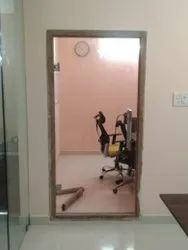 Tempered Glass Partition Work
