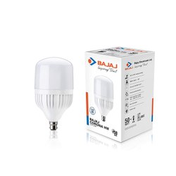 Bajaj Corona Base CDL B22 LED LAMP 50W, For Shop