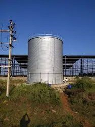 Zincalume Steel Water Storage Tank