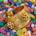 High Gold Platted Bangle