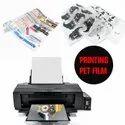 A3 Printable Heat Transfer Vinyl Sheets Cold Peel HTV Heat Press PET Film for DTF Printer