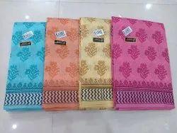 Gadwal Cotton Saree With Blouse