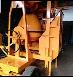 Tilting Drum Mixer Lift Machine