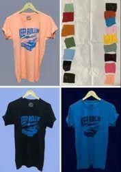Half Sleeve 15+ Colors Mens Round Neck T Shirt