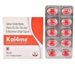 Calcium Citrate Malate Vitamin D3 Magnesium Oxide Zinc Folic Acid