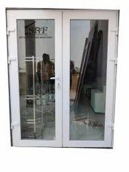 OM Enterprise White UPVC Hinged Window, Size/Dimension: 6 X 3 Feet