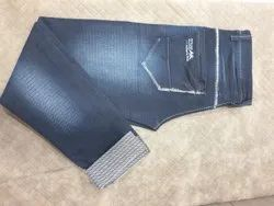 Denim Men Casual Faded Jeans, Hand Wash
