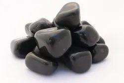 Tumbled Black Polished Pebble Stone