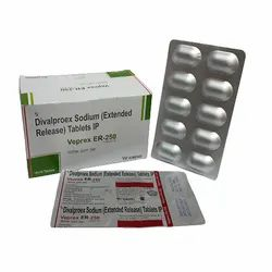 Divalproex Sodium 250mg ER Tablet