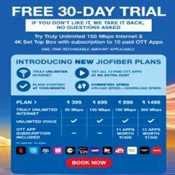 New jio Fiber Plan