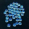 100% Natural Blue Moonstone Cabochon, 11mm Round Moonstone Cabochon, Eye Clean Moonstone Gemstone