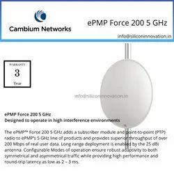 Cambium Networks ePMP Force 200 5 GHz, for Wireless Point To Point, -15 To +30 Dbm