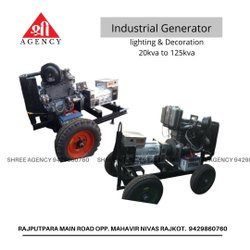 Generator Set With Trolley