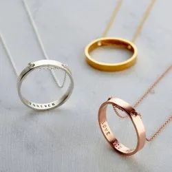 The Inner Circle Name Pendant Necklace