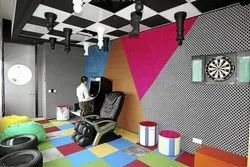 Commercial Interior Designing GAME ZONE ITERIOR SERVICE, Work Provided: Wood Work & Furniture