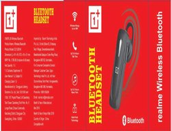 BlanTech 1+ Bluetooth Headsets