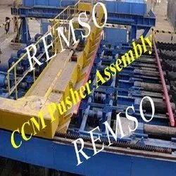 Pusher for Continuous Casting Machine