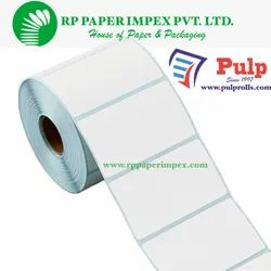 Pulp Thermal Transfer Labels 70 X 25 MM (2.75 X 1 Inch), 1 UP Chromo TT70x25x1