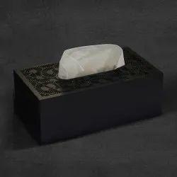 Tissue Box In MDF W / Color